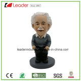 Personalizzato Bobble la resina Albert Einstein Bobbleheads per la decorazione domestica