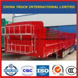 3 Aanhangwagen van de Vrachtwagen van de Staak van de Zijwand van de as de Semi