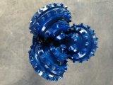 RC обратить вспять распространение Tricone коронок с помощью кнопки из карбида вольфрама.