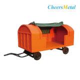 O Aeroporto galvanizado carga a granel Sala carrinho de reboque