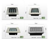 6W Outdoor LED luz de metro quadrado para Plaza