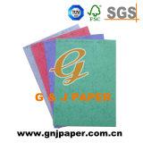 Vario papel del color de la buena calidad para la producción de la tarjeta del arte
