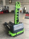 500kg portable Self Loading Stacker Semi Electric pallet Stacker
