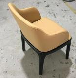Tapizado de microfibra de alta calidad restaurante silla con reposabrazos