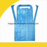Одноразовый PE халат с маркировкой CE прозрачный защитный фартук PE