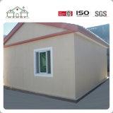 Una decoración sencilla casa de la luz de la junta de fibra de cemento del bastidor de acero modulares prefabricadas Casa en venta