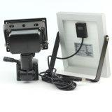 Novo 6V 10W Painel Solar 4000 mAh 80 LED Holofote Solar com Sensor de PIR