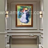 La reproducción de las obras maestras de baile en Bougival por Renoir hechos a mano pinturas al óleo
