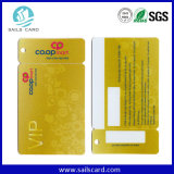 Cartes combinées de PVC avec le code ou le code barres de Qr