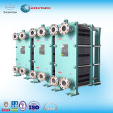 版ひれのタイプ構造の熱交換器