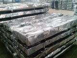 Anti Corrossion Prepainted galvanizada Teja techos de metal de color con fieltro