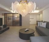 La última lámpara del techo de la lámpara del dormitorio del hotel del estilo de Europa, iluminación de la sala de estar