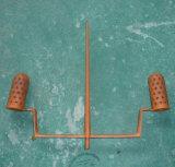 Moldeo a presión plástico de la pista del cepillo del tocador