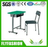 Mesa do estudante da mobília da sala de aula de Commecial única com cadeira plástica (SF-24S)