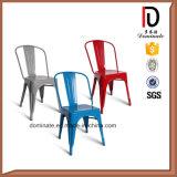 Diseño de moda que empila la silla colorida de la sala de estar de la laca