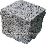 G602/G603/G439 Pavimentadora de granito de pedra de granito cinza tombado Pavimentadora de pedra de calçada Afogarem