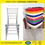 이동할 수 있는 방석을%s 가진 Chiavari 의자 Tiffany 명확한 플라스틱 Wedding 의자