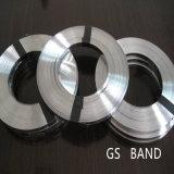 Het aangepaste Heldere Roestvrij staal die van de Oppervlakte Band voor Verpakking vastbinden