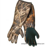 Alti guanti dell'esca di lunghezza del gomito del guanto di caccia del neoprene del camuffamento di stirata