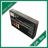 Tiroir noir rigide boîte cadeau avec Matt plastification