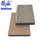 Decking en bois composé extérieur du plancher WPC d'Eco de coextrusion de WPC