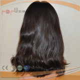 Peluca de las mujeres de la tapa de la piel del pelo de la Virgen (PPG-l-01665)