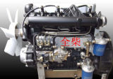 Dieselmotor van de Pomp van het Water van de Waarde van de macht 40HP, 3000rpm