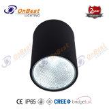 La mazorca de aluminio LED 12W LED lámpara de techo con miel peine
