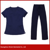 A boa qualidade esfrega, uniformes do hospital, fabricante da roupa do hospital (H5)