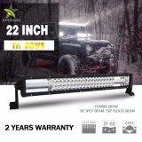 24V impermeabilizzano il montaggio di IP68 22inch - barra chiara automatica di riga 12V 4X4 LED della parentesi 3 per il camion fuori strada della jeep