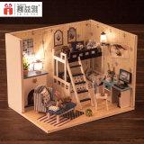 Los niños juguetes de madera bricolaje bricolaje Dollhouse