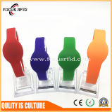 Wristband impermeable del silicio de 13.56MHz RFID para Identifcation