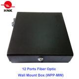 12 portas Fiber Optic Caixa para montagem na parede