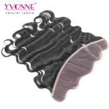 Yvonne-Haar-Karosserien-Wellen-brasilianisches Spitze-Stirnbein-Schliessen
