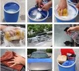 Kundenspezifische 9L Oxford faltbare bewegliche Wannen-Auto-Wäsche-Wanne