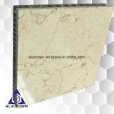 panneaux de nid d'abeilles de pierre de tempête de sable de 25mm pour la décoration de barre