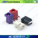 Цвет 2.0mm 5.5mm X гнездо зарядного устройства питания печатной платы порта 2.1mm разъему постоянного тока DC-005