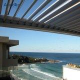 Azotea al aire libre de aluminio modificada para requisitos particulares del patio de Sunshading con el sistema de la lumbrera