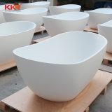 precio de fábrica Kkr piedra independiente Superficie sólida de resina bañera Bañera