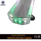 36-дюймовый Super Slim светодиодный индикатор бар с белый и зеленый светодиоды для поверхностного монтажа
