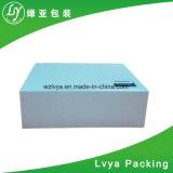 Rectángulo de regalo del embalaje del papel de la cartulina de la ropa de Wenzhou
