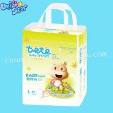 Amostras gratuitas descartáveis Fraldas para bebés sonolento Meias China Fabricante