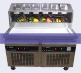 Machine de crême glacée de friture de la Thaïlande