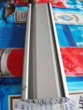 La taille chaude de double de qualité de Hight de vente aluminium rouleau vers le haut le présentoir de drapeau