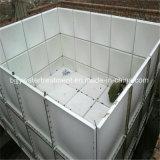 ガラス繊維GRP FRP部門別のアセンブルSMCのパネル水貯蔵タンク