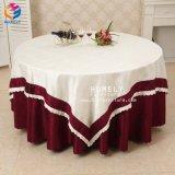 Hotel-Bankett-Baumwollpartei-weißes Hochzeits-runder Tisch-Tuch für Ereignis