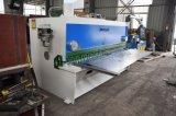 Cortador de corte da placa do ferro da máquina da placa QC11K-10*2500 hidráulica