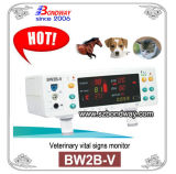 Monitor de Sinais vitais para o uso de EFP, Monitor de Sinais Vitais Veterinário, Monitor de paciente para o gato, cão e o cavalo, SpO2, PNI, Temperatura, Taxa de pulso