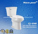 목욕탕 (CL-048)를 위한 위생 상품 2 조각 화장실