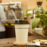 China-Fabrik nehmen Wegwerf-PET beschichtete einzelne Wand-Papier-Kaffeetasse weg